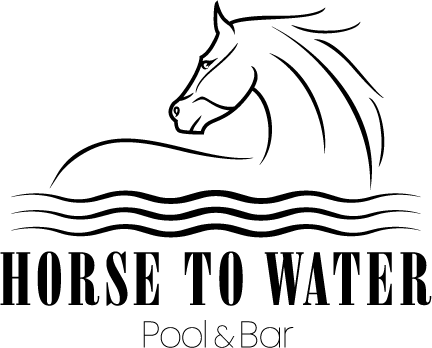 Horse to Water Pool & Bar Logo