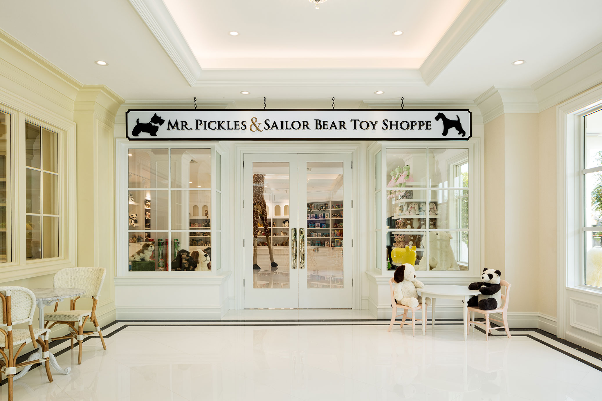 Mr. Pickles and Sailor Bear Toy Shoppe