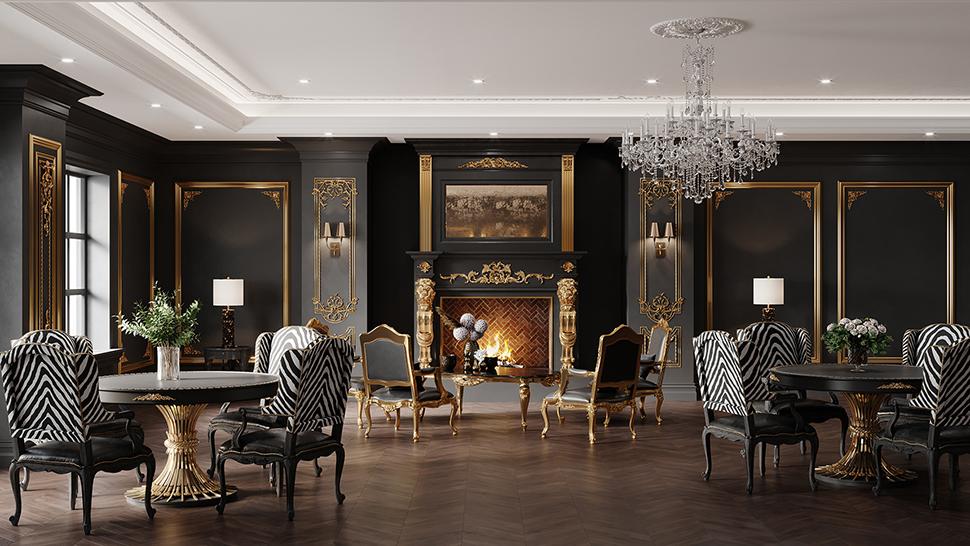 The Paris Room Interior