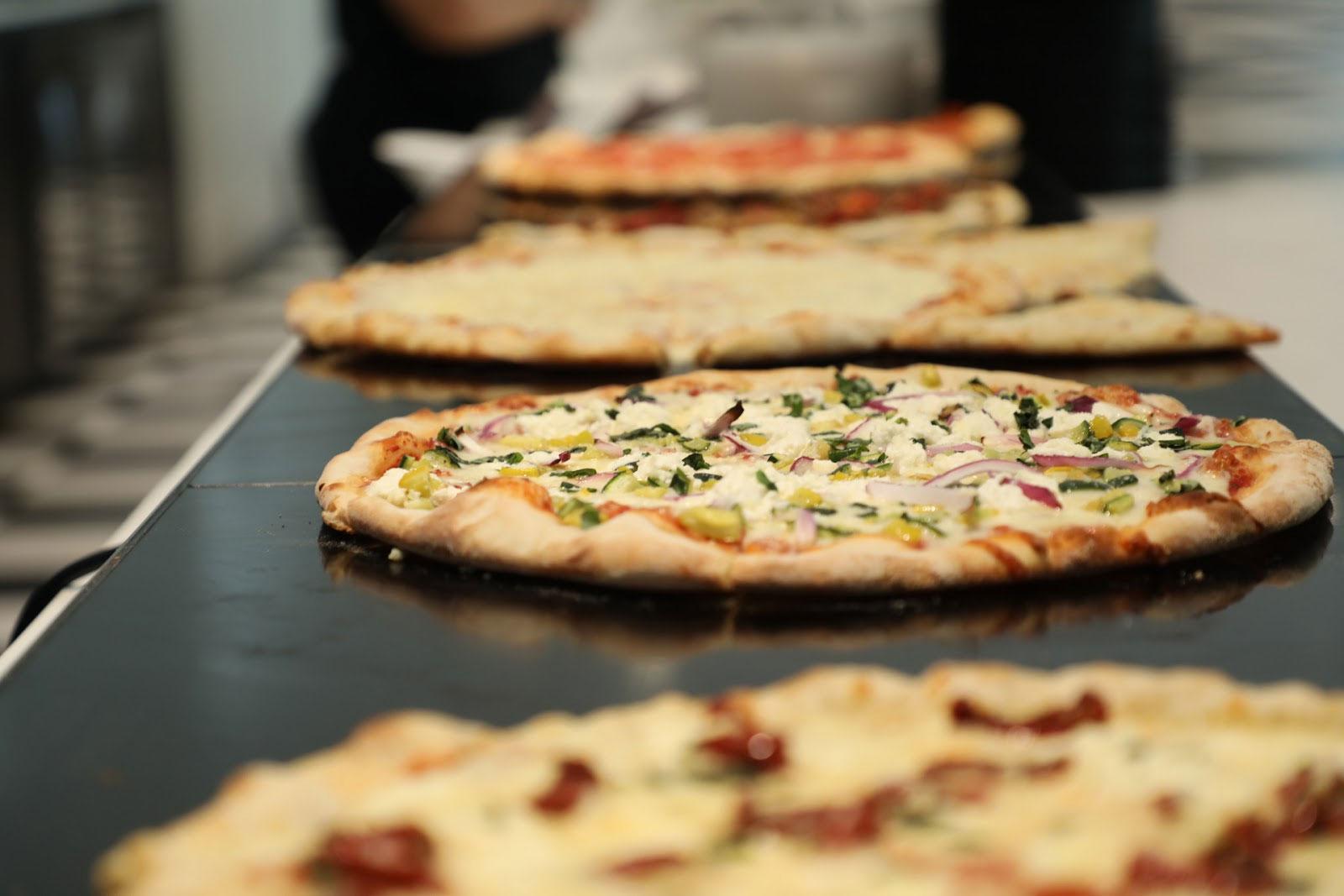 Viola & Dot's pizzas
