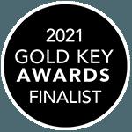 2021 Gold Key Awards Finalist Logo